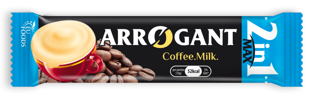 Arrogant coffee and milk