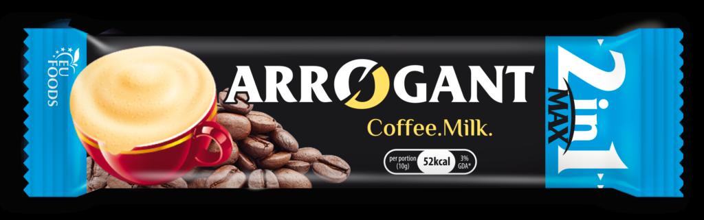 Arrogant coffee and milk
