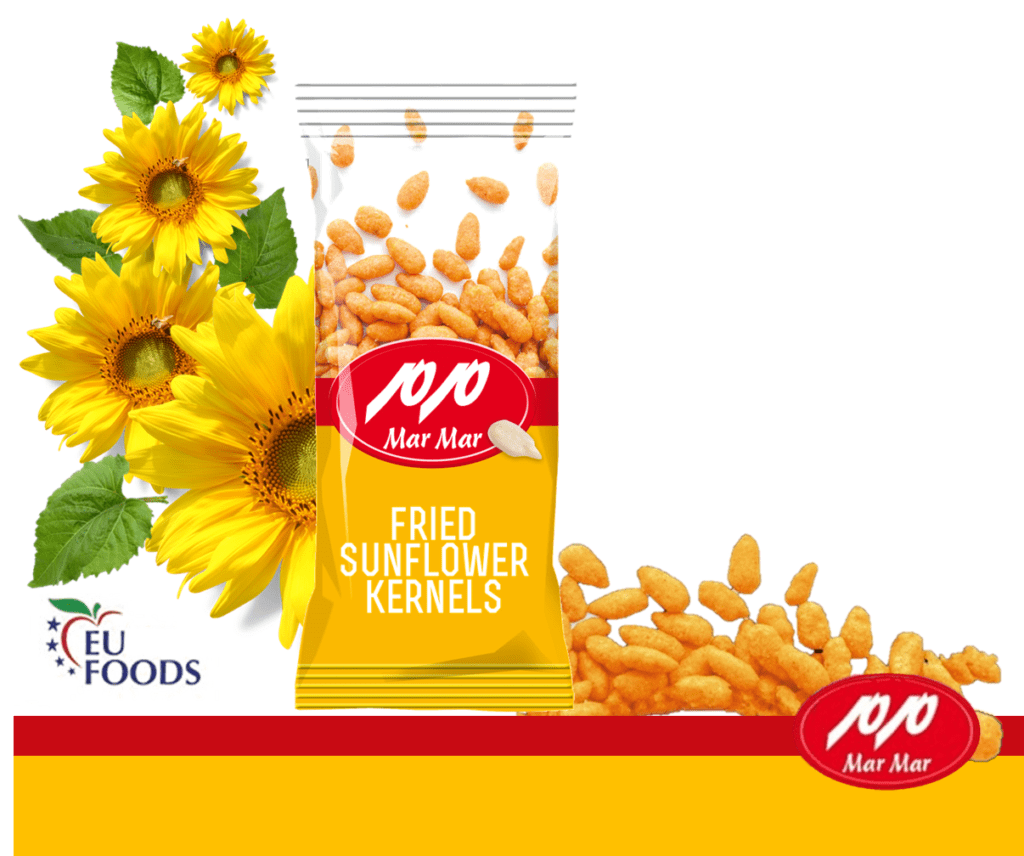 fried sunflower seeds