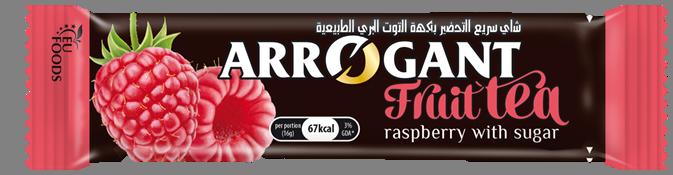 Raspberry instant tea