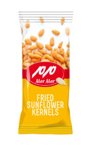 fried sunflower kernels
