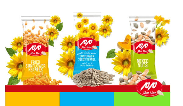 sunflower kernels and mixed nuts