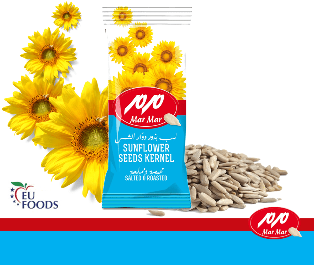 roasted sunflower kernels