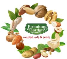 Premium garden- nuts and seeds logo