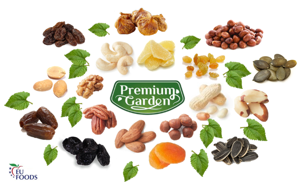 premium nuts and dry fruits