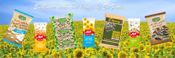 Sunflower seeds banner