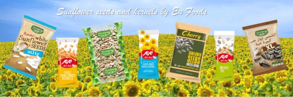 Sunflower seeds banner
