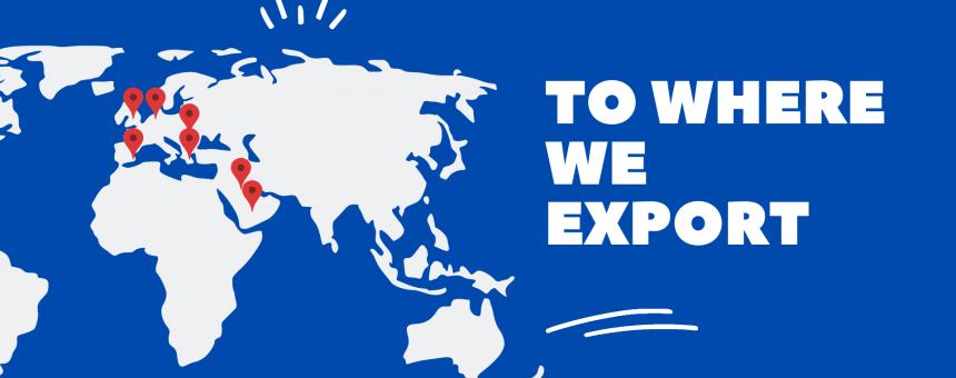 export banner
