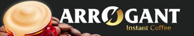 arrogant instant coffee banner
